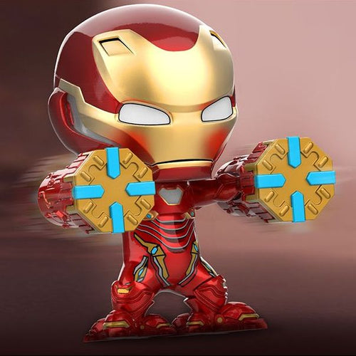 Avengers 3 Infinity War - Iron Man Mark L 50 Power Mallet Version Cosbaby Bobble-head Hot Toys