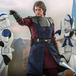 Star Wars The Clone Wars - Anakin & STAP TMS020 1/6 Scale Articulated Action Figure Hot Toys