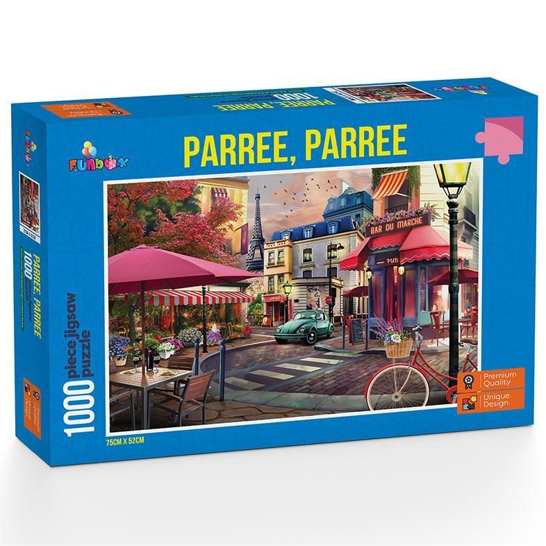 Paree, Paree - Part 1 1000 piece Jigsaw Puzzle Funbox