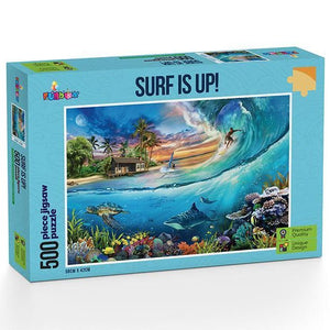 Surf Is Up! 500 piece Jigsaw Puzzle Funbox