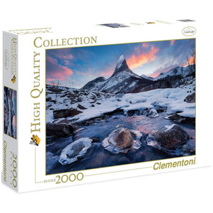 Norway - The Throne 2000 Piece Jigsaw Puzzle Clementoni