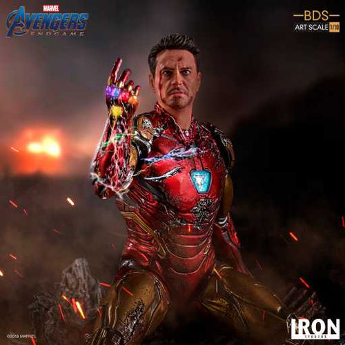 Avengers 4 Endgame - I Am Iron Man BDS Art Scale 1/10 Scale Statue Iron Studios