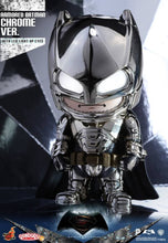 Load image into Gallery viewer, Batman V Superman Dawn of Justice - Batman Armored Chrome Version Cosbaby Figure Hot Toys