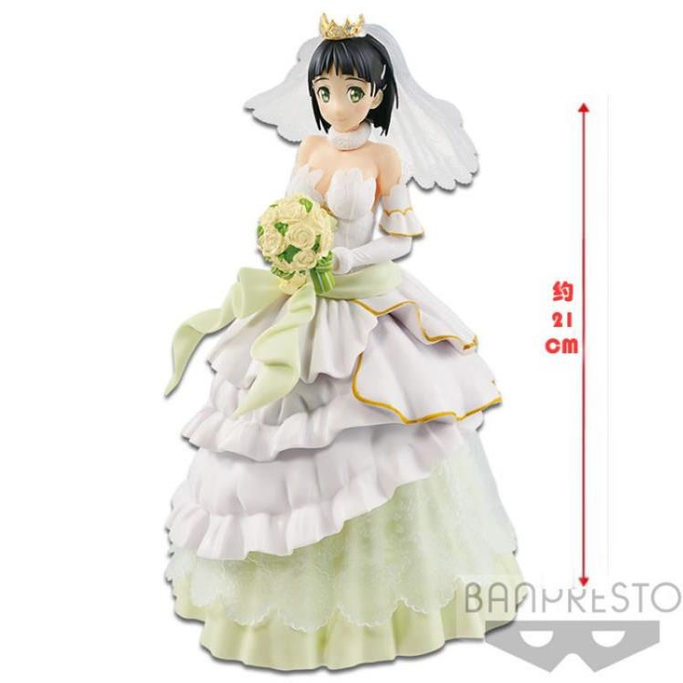 Sword Art Online Code Register - Suguha Wedding Version EXQ PVC Figure Banpresto