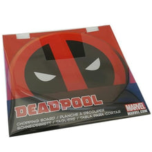 Load image into Gallery viewer, Deadpool - Deadpool Logo 33cm Diameter Glass Cutting Board