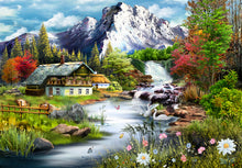 Load image into Gallery viewer, Mountain The Mountain 1000 piece Jigsaw Puzzle Funbox