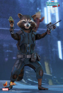 Guardians of the Galaxy Vol. 2 - Rocket Raccoon Deluxe MMS411 1/6 Scale Collectible Articulated Figure Hot Toys