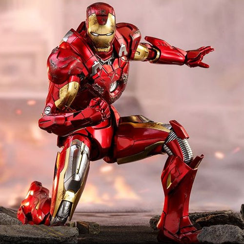 Avengers - Iron Man Mark VII 7 MMS500D27 1/6 Scale Collectible Articulated Figure Hot Toys
