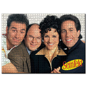 Seinfeld - Cast Photo 1000 piece Jigsaw Puzzle Licensing Essentials