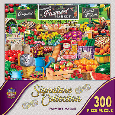 Signature Collection - Farmer's Market 300 piece Jigsaw Puzzle Masterpieces