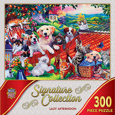 Signature Collection - Lazy Afternoon 300 piece Jigsaw Puzzle Masterpieces