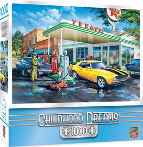 Childhood Dreams - Pop's Quick Stop 1000 piece Jigsaw Puzzle Masterpieces