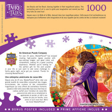 Load image into Gallery viewer, Classic Fairy Tales - Beauty and the Beast 1000 piece Jigsaw Puzzle Masterpieces