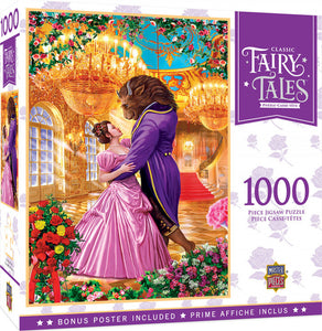 Classic Fairy Tales - Beauty and the Beast 1000 piece Jigsaw Puzzle Masterpieces
