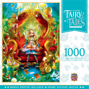 Classic Fairy Tales - Alice in Wonderland 1000 piece Jigsaw Puzzle Masterpieces