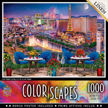 Load image into Gallery viewer, Colorscapes Linen - Las Vegas Living 1000 piece Jigsaw Puzzle Masterpieces