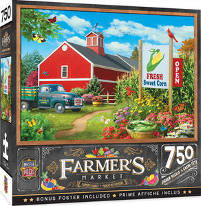 Farmers Market - Country Heaven 750 Piece Jigsaw Puzzle Masterpieces