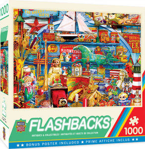 Flashbacks - Antiques & Collectibles 1000 piece Jigsaw Puzzle Masterpieces
