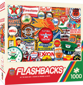 Flashbacks - Hit the Road Jack 1000 piece Jigsaw Puzzle Masterpieces