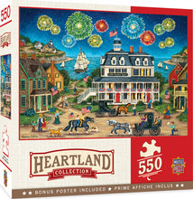Load image into Gallery viewer, Heartland Collection - Fireworks Finale 550 piece Jigsaw Puzzle Masterpieces