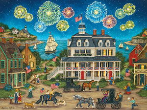 Heartland Collection - Fireworks Finale 550 piece Jigsaw Puzzle Masterpieces