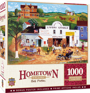 Hometown Gallery - Changing Times 1000 piece Jigsaw Puzzle Masterpieces