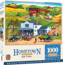 Load image into Gallery viewer, Hometown Gallery - McGiveny's Country Store 1000 piece Jigsaw Puzzle Masterpieces