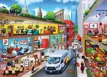 Load image into Gallery viewer, Inside Out - City Living 1000 piece Jigsaw Puzzle Masterpieces