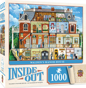 Inside Out - Walden Manor House 1000 piece Jigsaw Puzzle Masterpieces