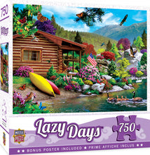 Load image into Gallery viewer, Lazy Days - Free to Fly 750 Piece Jigsaw Puzzle Masterpieces
