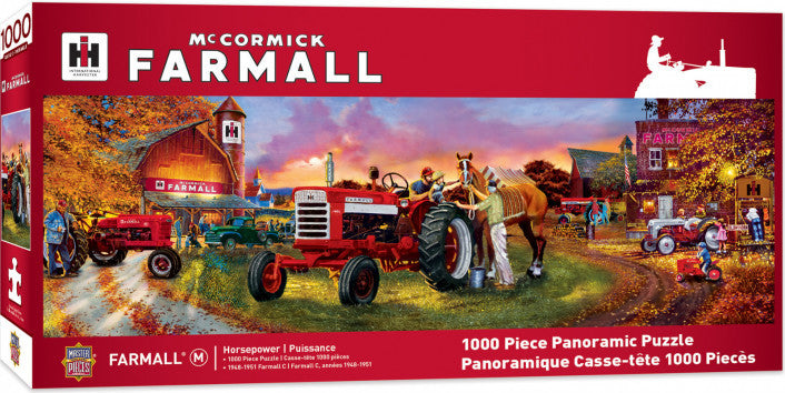 Farmall - Panoramic 1000 piece Jigsaw Puzzle Masterpieces
