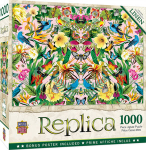 Replica - Blue Birds 1000 piece Jigsaw Puzzle Masterpieces