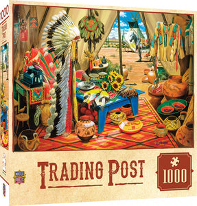 Tribal Spirit - Trading Post 1000 piece Jigsaw Puzzle Masterpieces