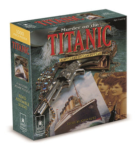 Mystery - Murder on the Titanic 1000 piece Jigsaw Puzzle Bepuzzled