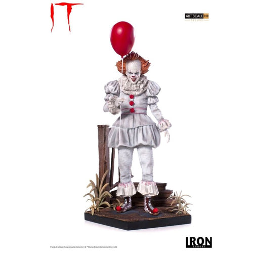 It (2017) - Pennywise Deluxe Art Scale 1/10 Scale Statue Iron Studios