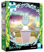 Load image into Gallery viewer, Rick and Morty - Shy Pooper 1000 piece Jigsaw Puzzle The Op USAopoly