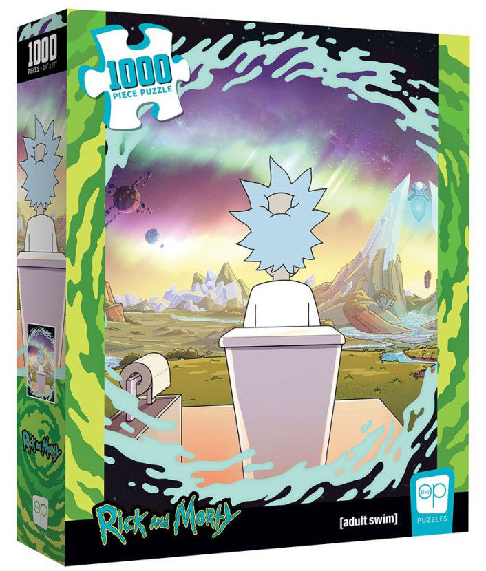 Rick and Morty - Shy Pooper 1000 piece Jigsaw Puzzle The Op USAopoly