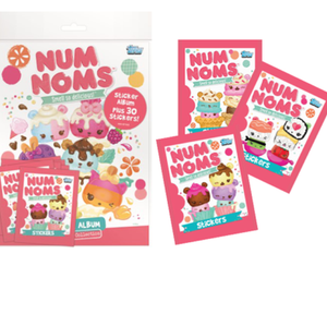 Num Noms - Sticker Album and 30 Stickers Starter Pack Topps