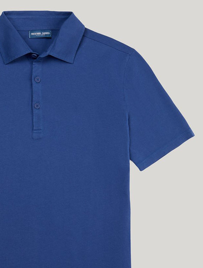 Oscar Short-Sleeved Jersey Polo Shirt