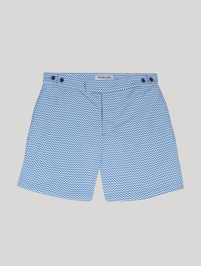 TAILORED SWIM SHORTS COPACBANA PRINT