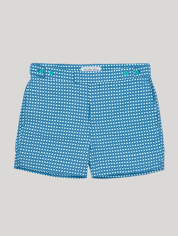 TAILORED SWIM SHORTS IPANEMA PRINT