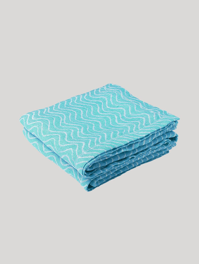 Ondas Linen Beach Towel