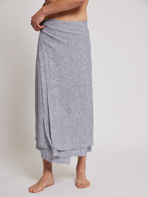 Thin Striped Linen Towel