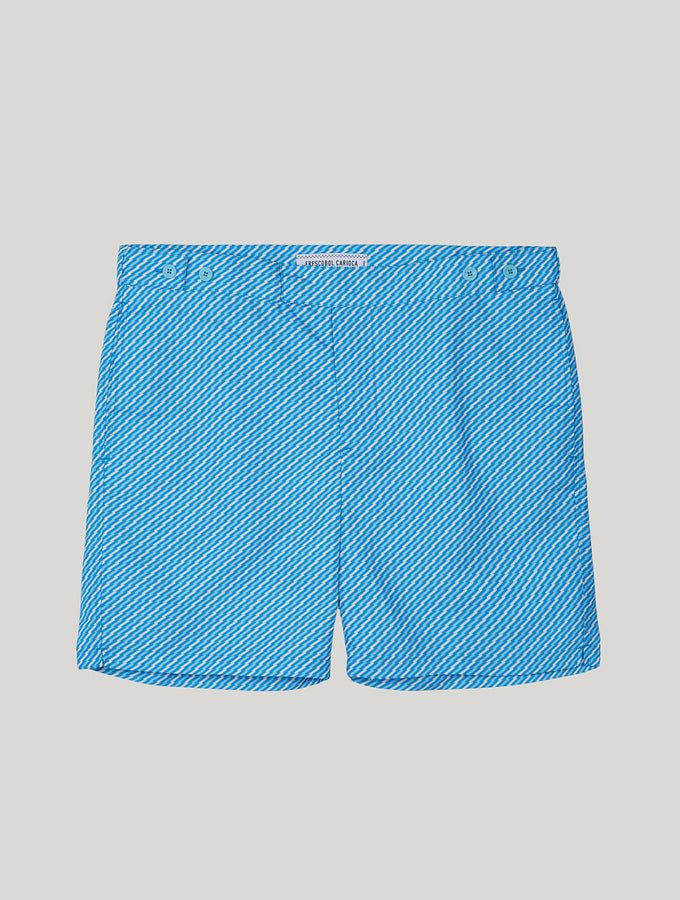 TAILORED SWIM SHORTS PEPE PRINT
