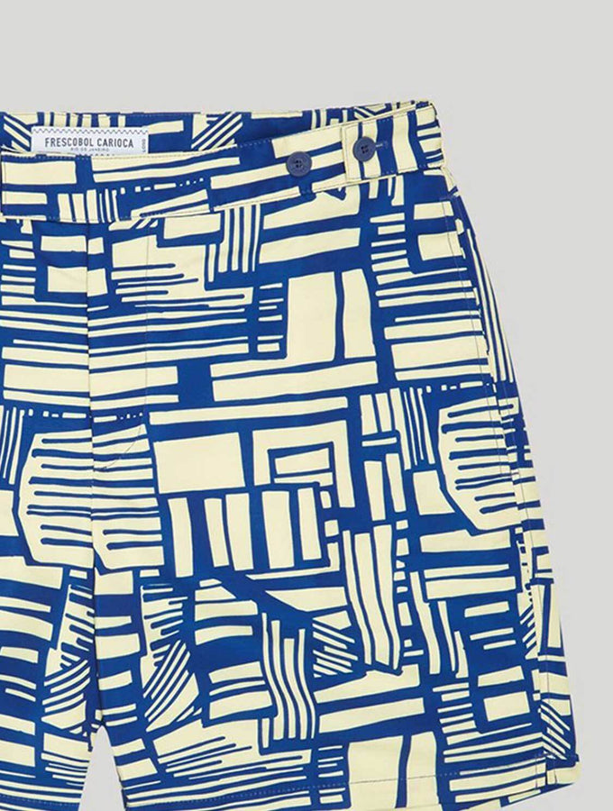 TAILORED SWIM SHORTS LINHA PRINT