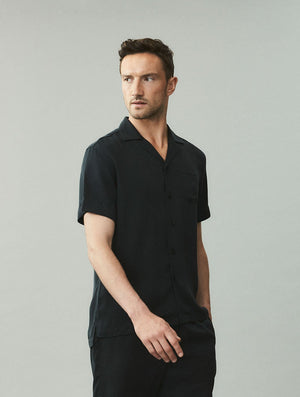 Camp Collar Tencel Shirt