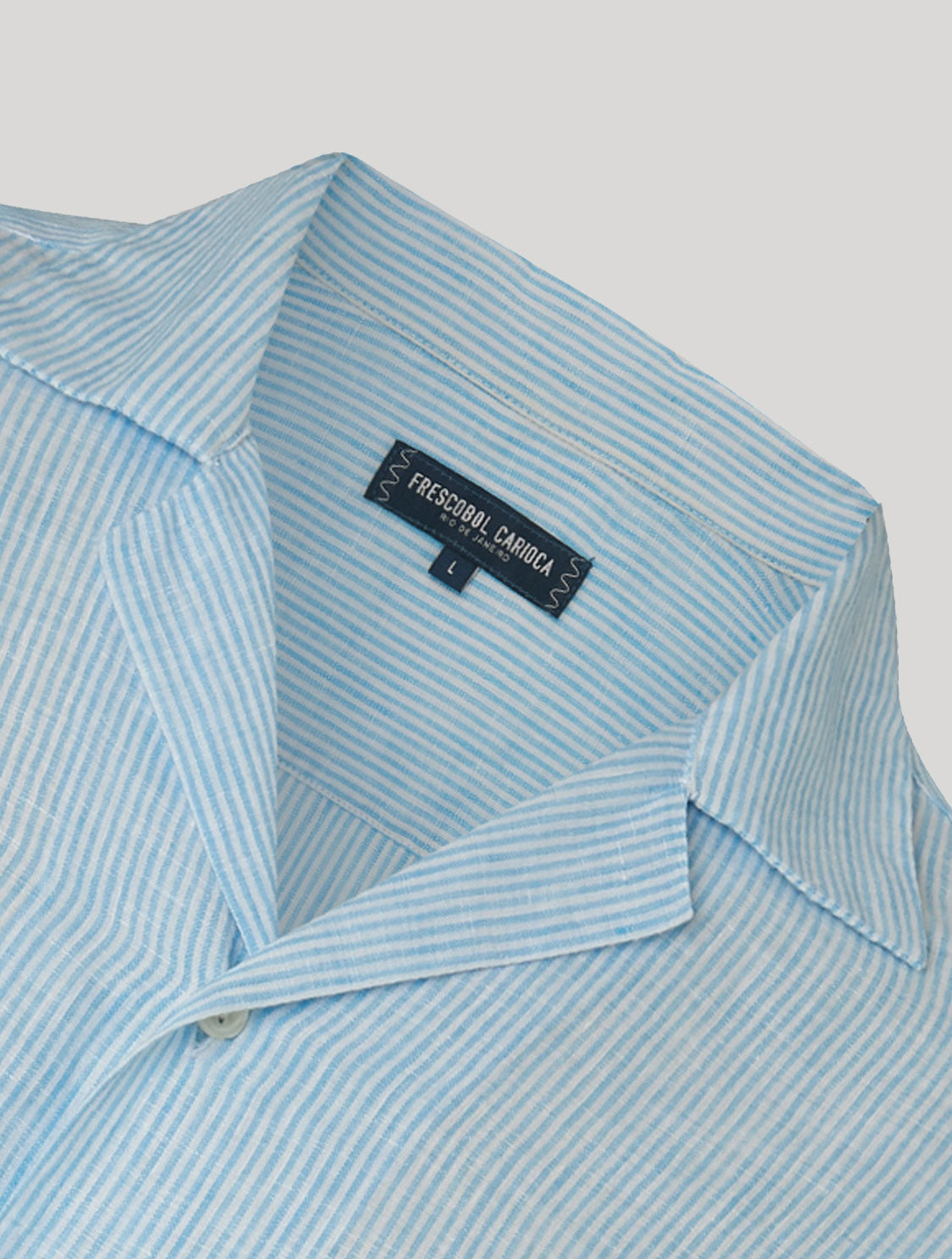 Thomas Camp Collar Linen Shirt