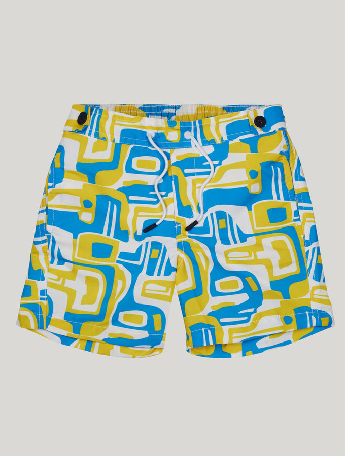 CARIOCA KIDS SWIM SHORTS SHAPE PRINT