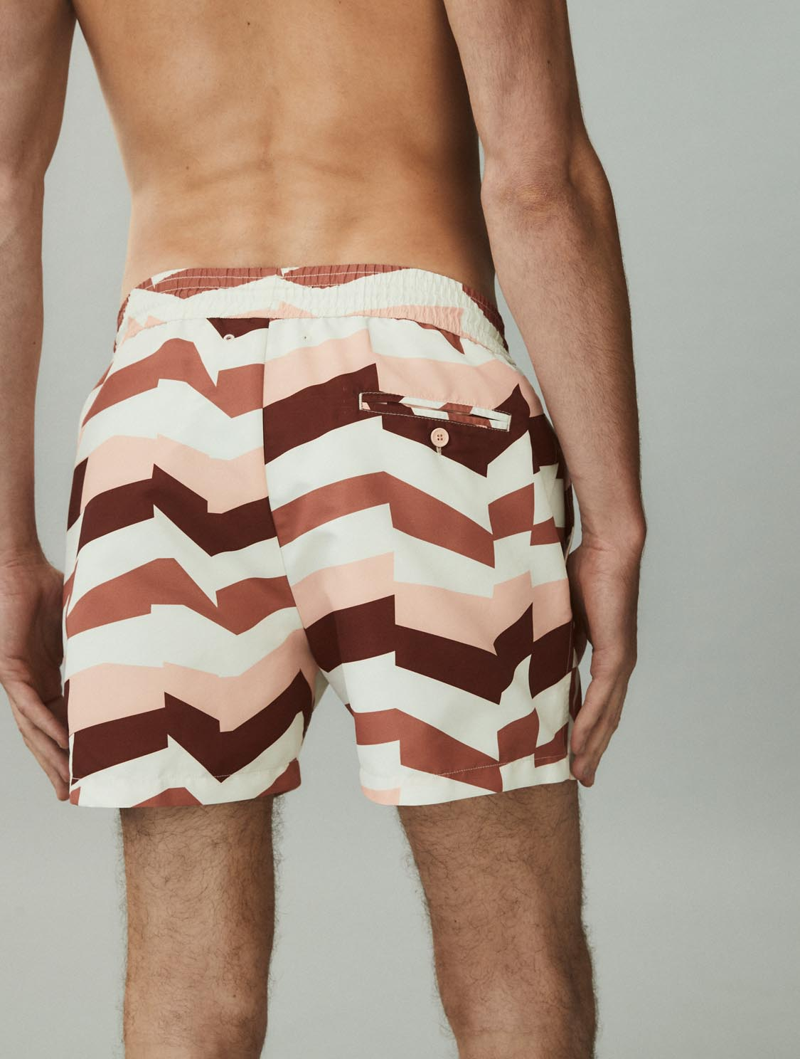SPORT SWIM SHORTS DISTILLATION PRINT