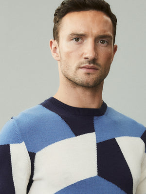 Modernist Cabana Merino Knit Sweater